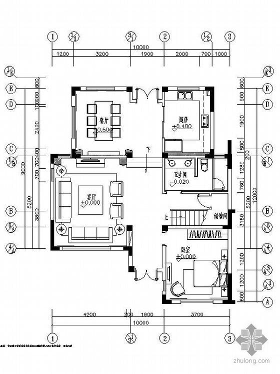 [南京]简欧风格样板房装修图