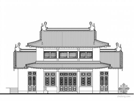 某古建筑修复建筑施工图