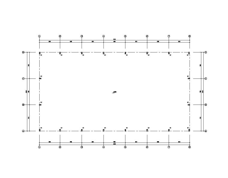 [福建]轻型门式钢屋架厂房结构施工图设计