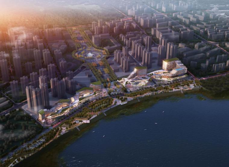 [广东]泸州麒麟新城滨江带公园景观设计文本(PDF+110页)