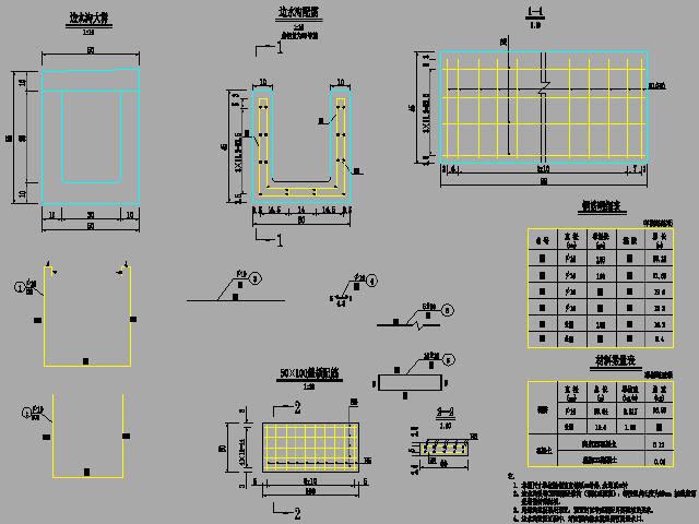 [重庆]2015年设计市政道路13m宽三心圆曲墙结构下穿通道设计图29张(附计算报告25页)