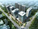 [西安]方形体量塔式办公楼建筑设计方案文本(含空中花园)