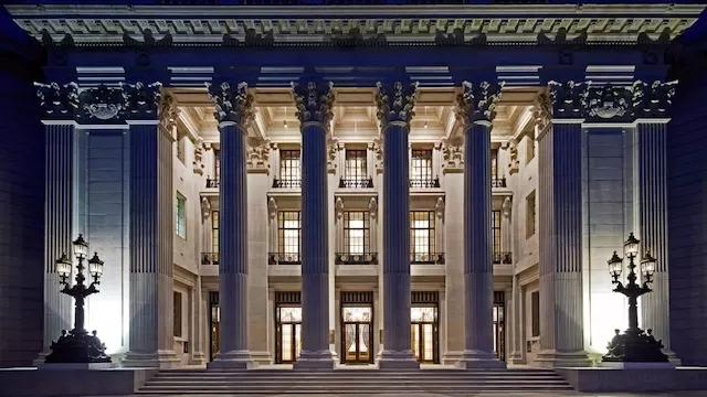 中国公司买下了伦敦老建筑,开了一家四季酒店