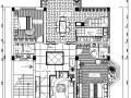 双层独栋别墅内部装修整套施工图设计(附效果图)
