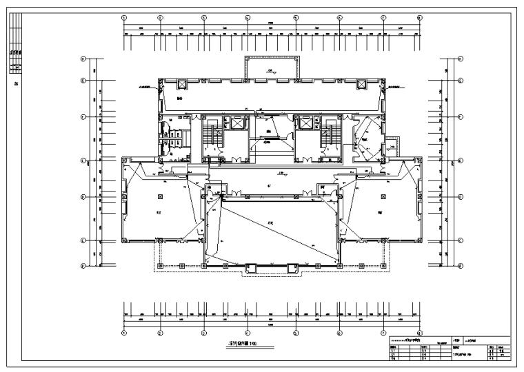 某大学图书馆电气设计图纸全套_3
