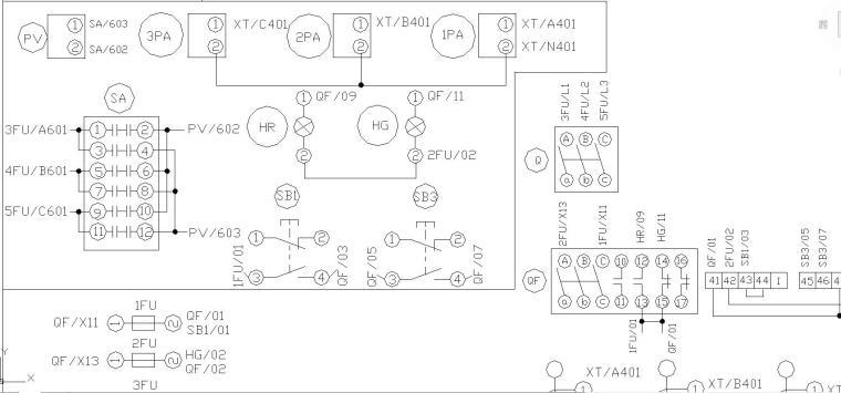 GGD原理图和接线图