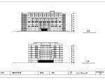 安徽财贸学院图书馆23897平米建筑图带外观效果图
