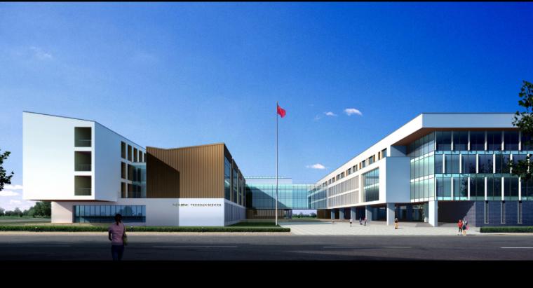 [南京]某中学建筑设计方案文本