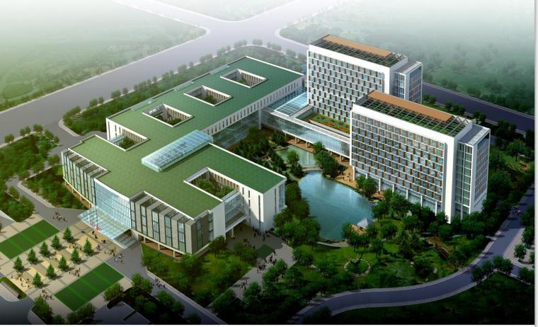 [江苏]溧县人民医院建筑规划设计文本