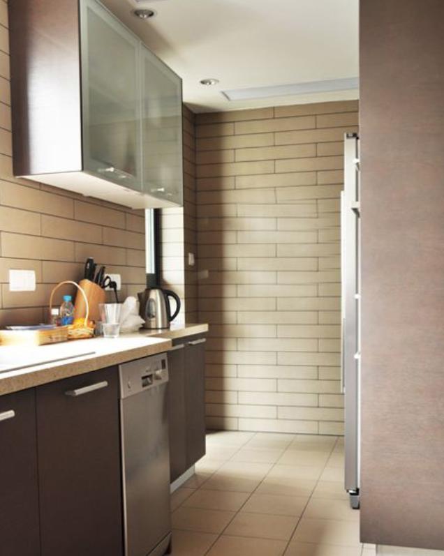 原木色调现代中式混搭住宅室内装修设计效果图方案(19张)