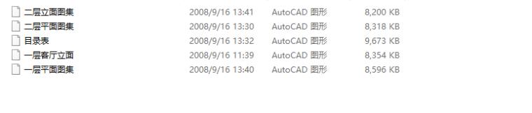 【广东】现代风格复式样板房CAD施工图(含效果图)_10