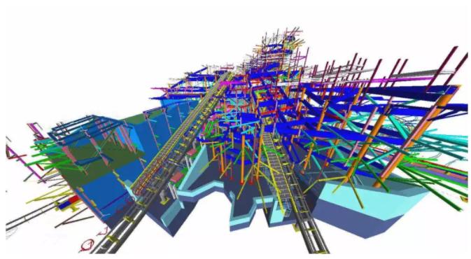 楼梯板施工缝支模体系资料免费下载