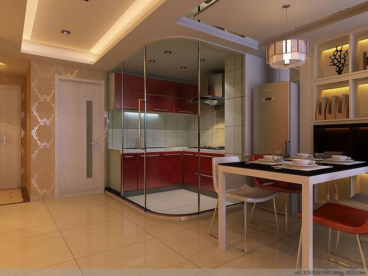 房屋建筑面积:65㎡ 装修风格:低调奢华现代风