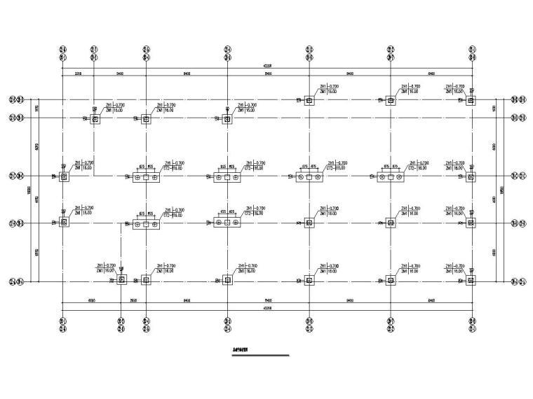 三层幸福里沿街商铺框架结构施工图