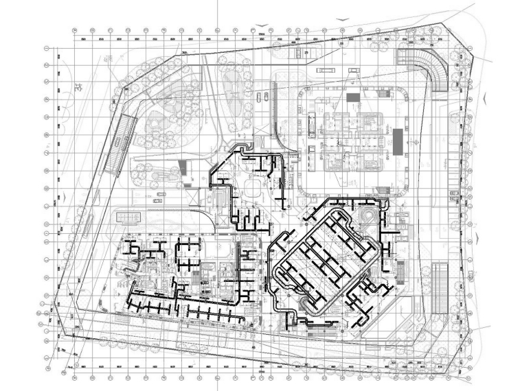 [天津]超高层办公酒店综合体暖通空调全系统设计施工图(632张)_4