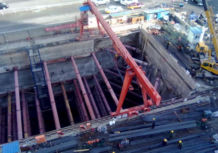 杭州地铁2号线深基坑工程专项施工方案(共326页)