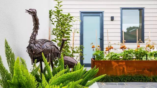 赶紧收藏!21个最美现代风格庭院设计案例_21