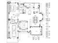 [辽宁]青墨雅涵—444㎡中式风格住宅设计施工图及效果图