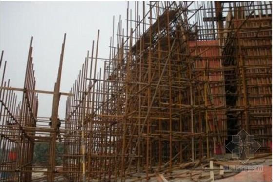 建筑工程折线形钢骨混凝土核心筒施工工法