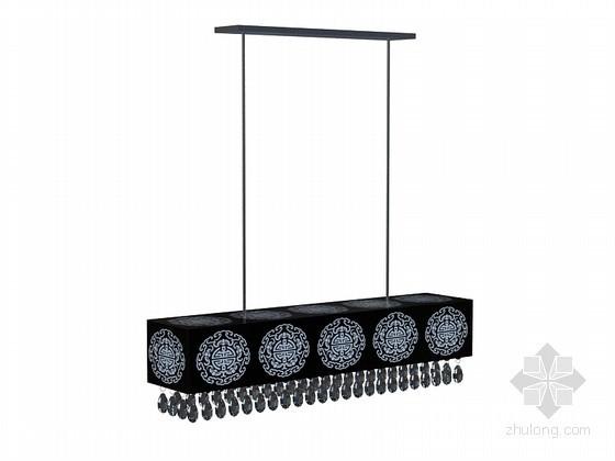 厨房吊灯3D模型下载