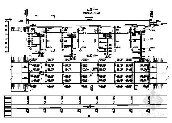 [湖北]一聯7x20m先簡支后連續后張法預應力小箱梁橋施工圖70張(跨水庫圖片