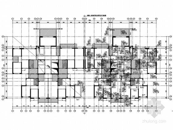[四川]18层剪力墙结构B户型住宅楼结构施工图(仅地上结构)