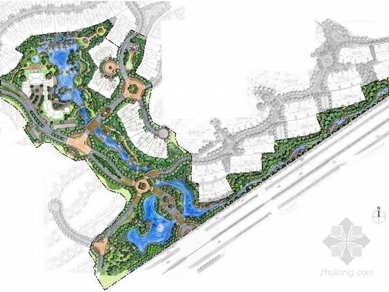 [昆明]滨湖生态休闲居住样板区景观设计方案