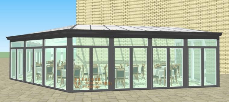 餐厅咖啡厅阳光房设计方案_3