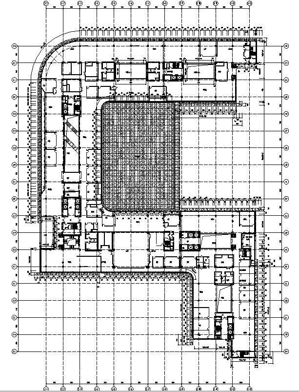 [北京]知名网络公司办公总部建筑施工图(修改图纸)_7
