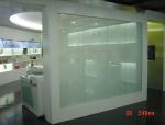 调光玻璃幕透光良好,清晰透明,可很好地保护隐私