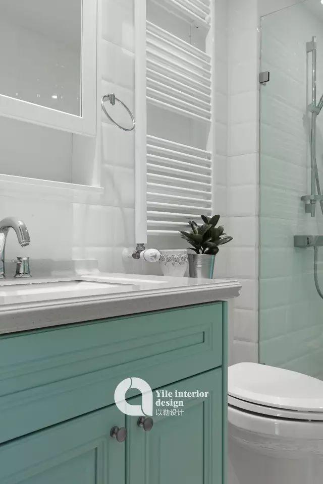 拥有绝美榻榻米卧室、治愈系厨房,可能是最清新的美式风!_48