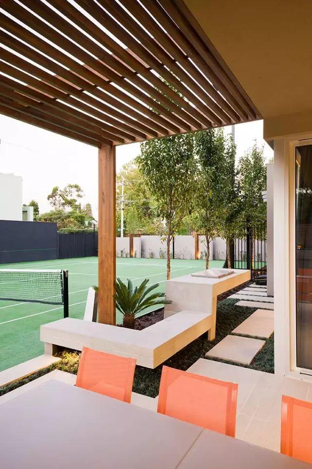 赶紧收藏!21个最美现代风格庭院设计案例_176