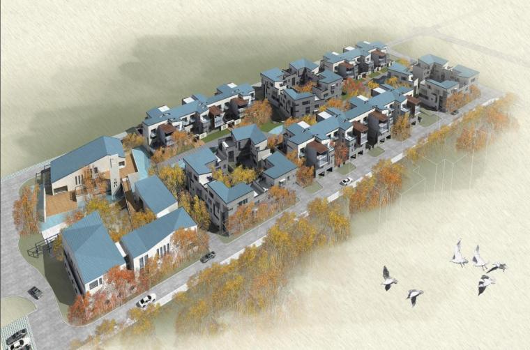 [陕西]多层中式四合形式住宅建筑设计方案文本