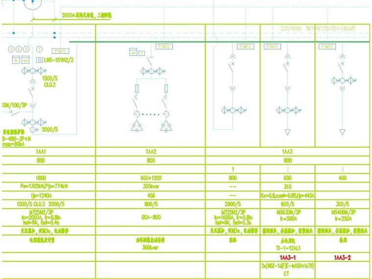 [广东]某大型商业建筑电气施工图