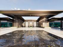 [四川]成都北大资源紫境东来示范区售楼处建筑模型设计(2018年资料)