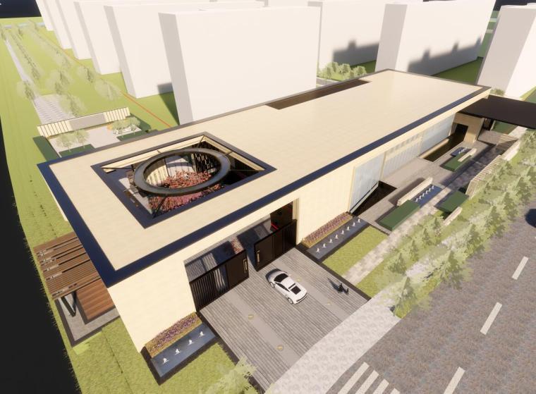 [江苏]无锡万科天一项目售楼处示范区设计(2018年)