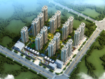 [湖南]多功能居住区规划及单体设计方案