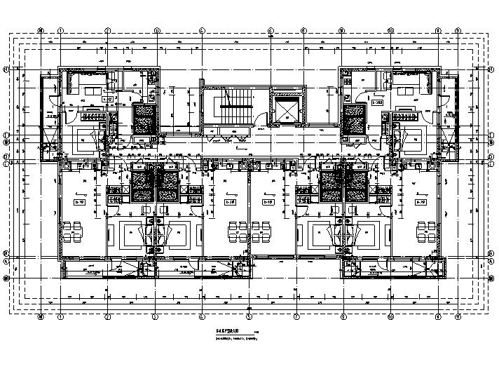 [吉林]多层框架剪力墙结构度假区住宅建筑施工图_7
