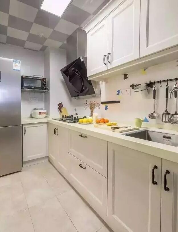 U水槽资料下载-厨房装修图集
