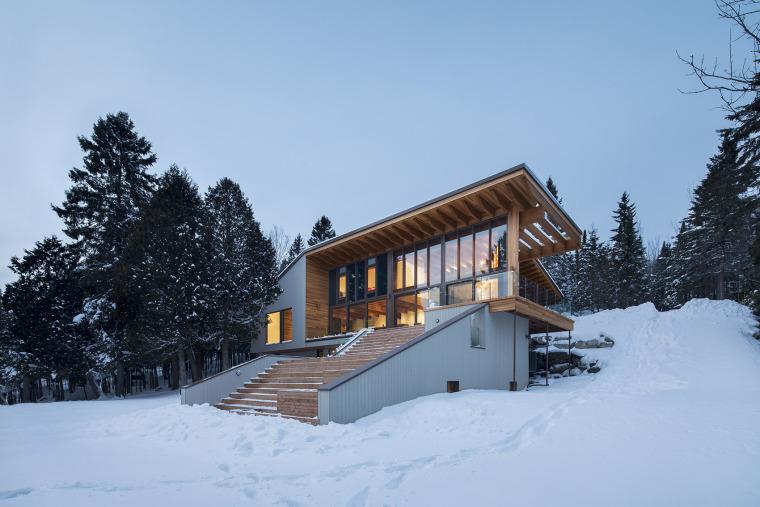 加拿大L'Accostée住宅