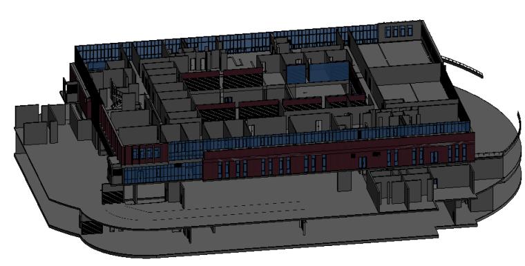 BIM模型-revit模型-广联达建筑模型