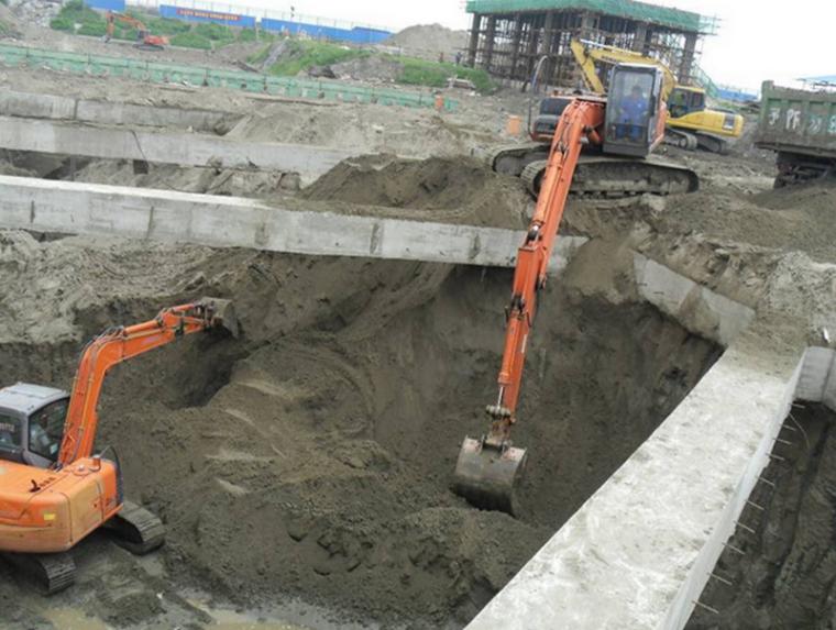 五轴搅拌桩插型钢资料下载-[浙江]生产基地项目深基坑工程专项施工方案(113页,附图)