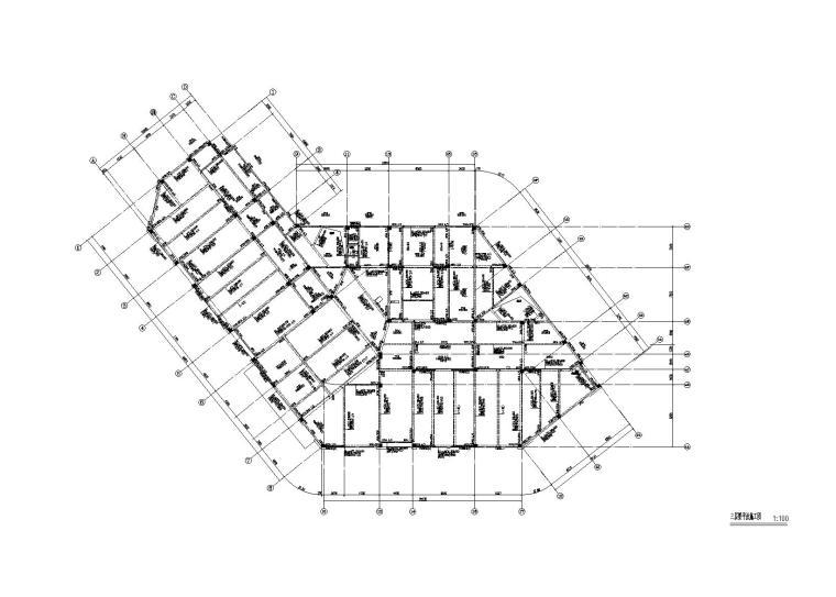 三层梁平法施工图