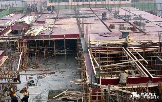 建筑工地的墙,梁,板的模板标准化做法_2