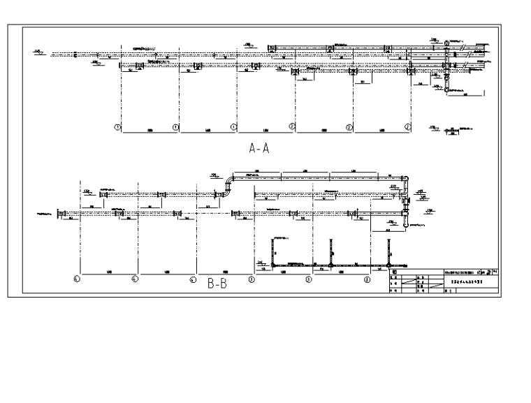 某钢厂除盐水站改造工程图纸(CAD)