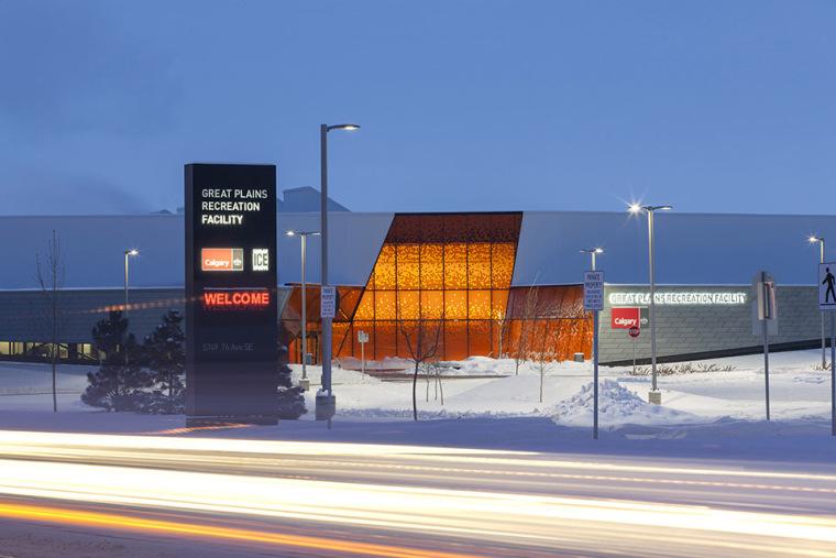 加拿大Calgary大型体育娱乐中心-5