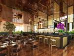 漂亮餐厅3D模型下载