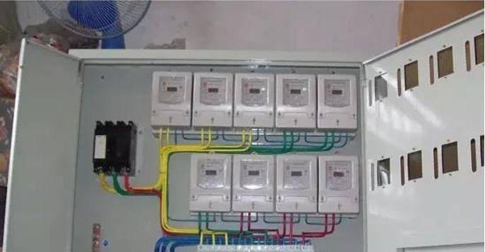 家用配电箱安装接线图解