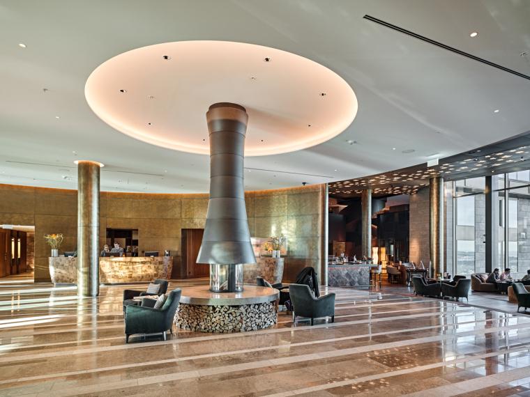 瑞士布尔根施托克酒店-Lobby-Roger_Frei