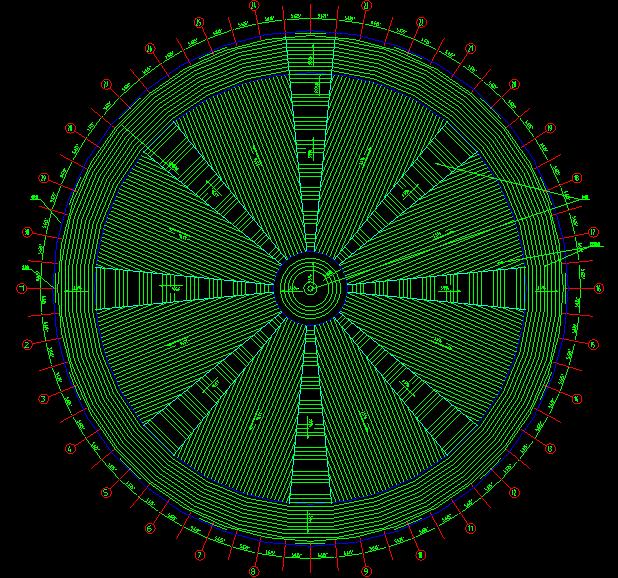 全套网架檩条平面施工图_1